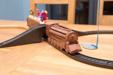 Chocolate train!
