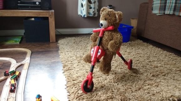 Bertie the nursery bear