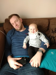Ha ha - I wore Daddy out