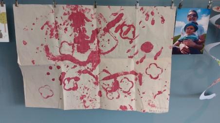 First nursery art work
